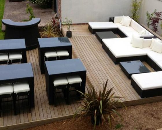 Chill Out Bar and Lounge area on Private Terrace