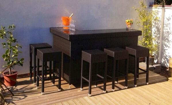 Rattan Bar Furniture New For 2013 Alfresco Trends