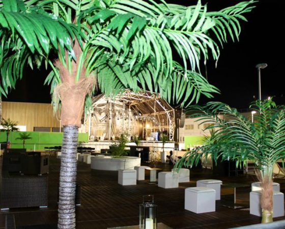 Ibiza Style VIP Area, VW Audi 60th Anniversary Party, VW HQ